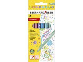 EBERHARD FABER Pastell Glitter Fasermaler