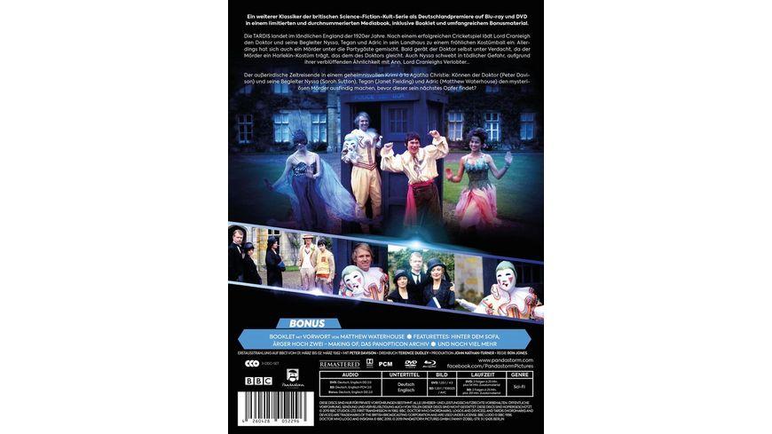 Doctor Who Fuenfter Doktor Die schwarze Orchidee LTD ltd Mediabook 3 BRs