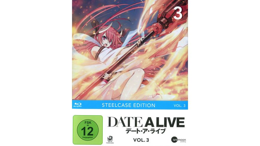DATE A LIVE Vol 3 Steelcase Edition