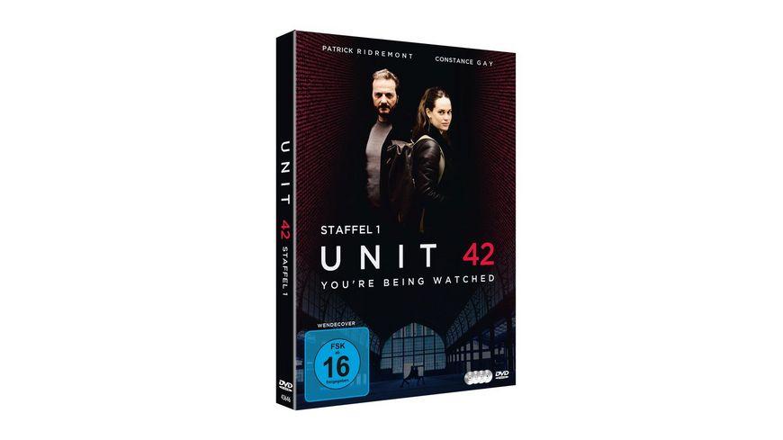 Unit 42 Die Komplette Staffel 1 4 DVDs