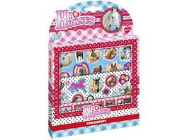 Totum CREATIVITY I LOVE HORSES STICKERSET