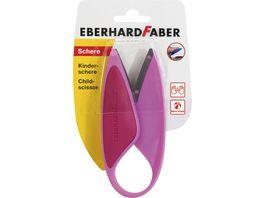 EBERHARD FABER Kindergartenschere Faustgriff pink