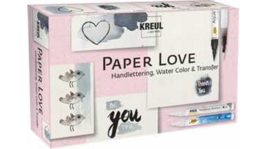 KREUL Paper Love-Set