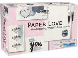KREUL Paper Love Set