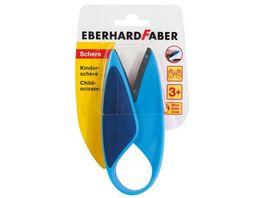 EBERHARD FABER Kindergartenschere Faustgriff blau