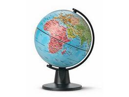 IDENA Globus Durchmesser 11 cm mit politischem Kartenbild