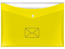 VELOFLEX Postmappe A4 gelb