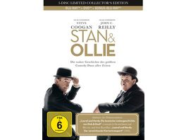 Stan Ollie 3 Disc Limited Collector s Mediabook DVD Bonus Blu ray