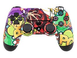 Skins Sticker fuer PS4 Controller Stickerbomb