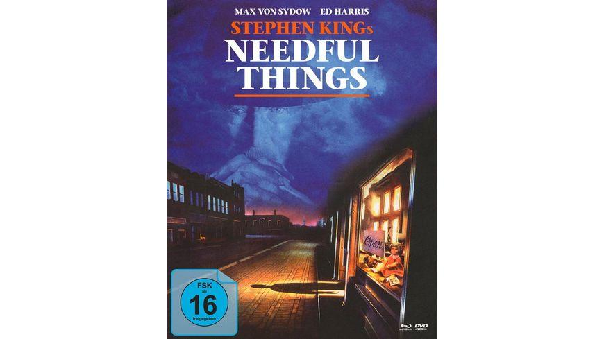 Stephen Kings Needful Things In einer kleinen Stadt Mediabook DVD Bonus DVD