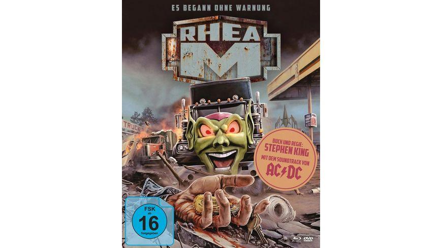 Stephen Kings Rhea M Es begann ohne Warnung Mediabook A DVD Bonus DVD