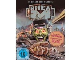 Stephen Kings Rhea M Es begann ohne Warnung Mediabook A DVD Bonus BR