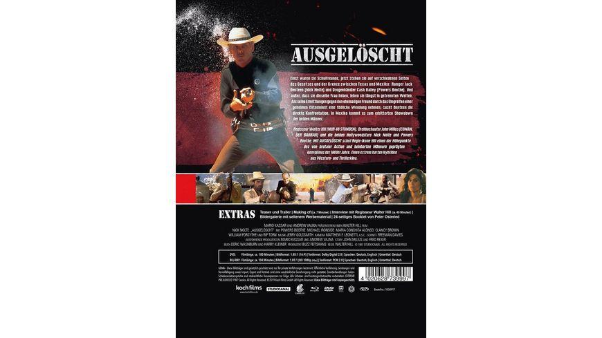 Ausgeloescht Extreme Prejudice Mediabook B DVD