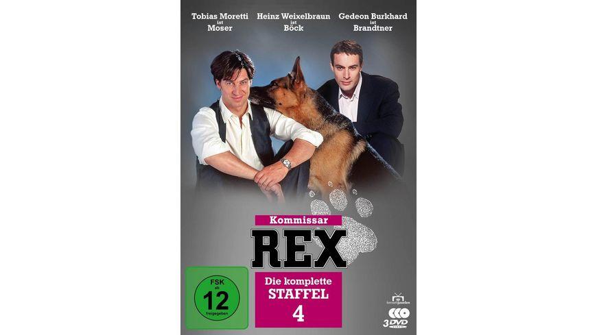 Kommissar Rex Die komplette 4 Staffel 3 DVDs