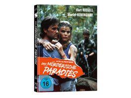 Das moerderische Paradies Mediabook Cover A DVD