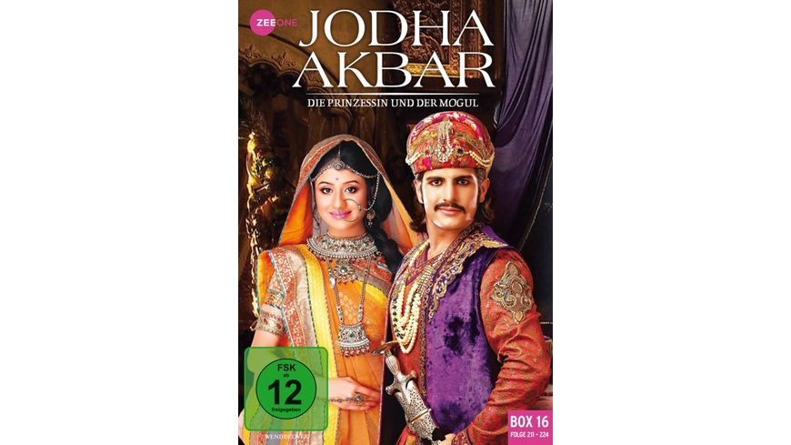 Jodha Akbar - Die Prinzessin und der Mogul (Box 16) (211-224)  [3 DVDs]