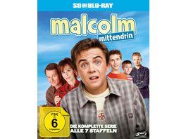 Malcolm mittendrin Die komplette Serie Staffel 1 7 SD on Blu ray