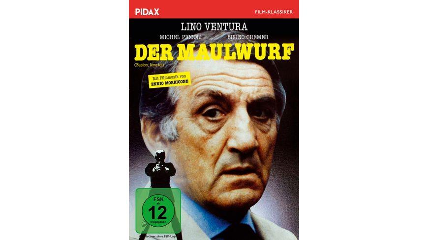 Der Maulwurf Espion leve toi Spannender Kultthriller mit Starbesetzung und grandiosem Soundtrack von Ennio Morricone Pidax Film Klassiker