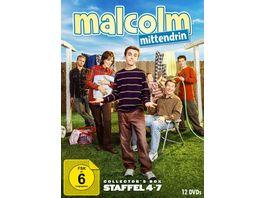 Malcolm mittendrin Staffel 4 7 12 DVDs
