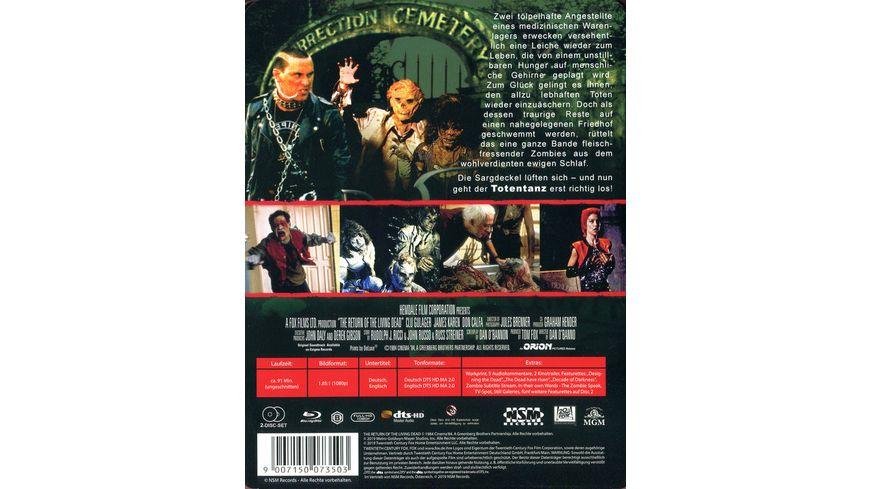 Return of the living Dead Verdammt die Zombies kommen Uncut Steelbook 2 BRs