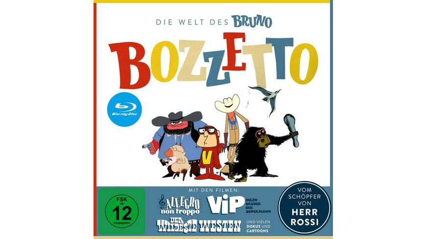Die Welt des Bruno Bozzetto Bonus DVD 3 BRs