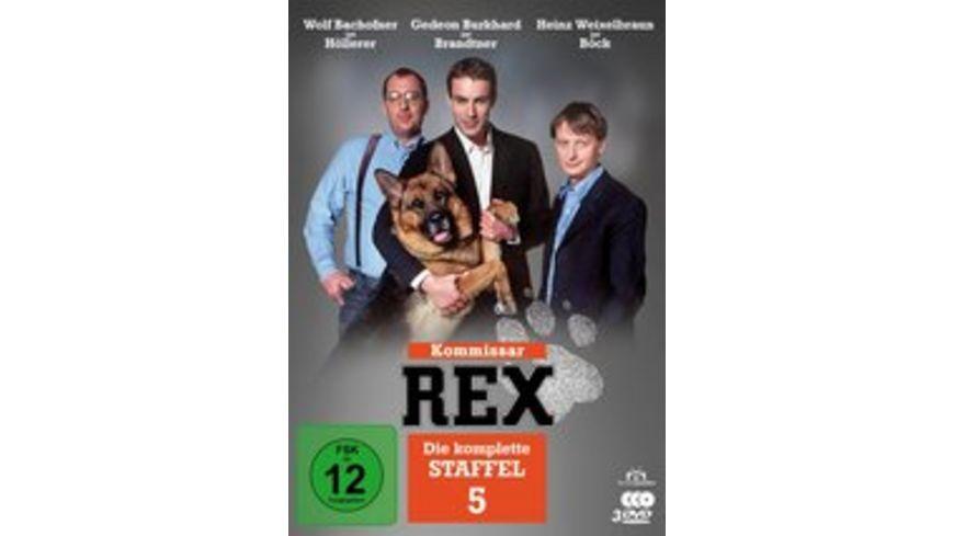 Kommissar Rex Die komplette 5 Staffel 3 DVDs