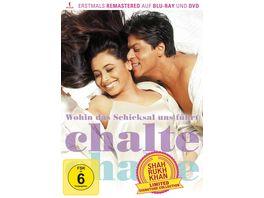 Wohin das Schicksal uns fuehrt Chalte Chalte Shah Rukh Khan Signature Collection limitiert DVD