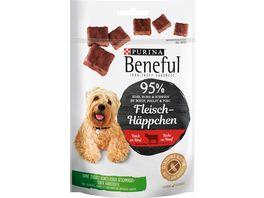 Purina Beneful Fleisch Haeppchen Rind Hundesnack