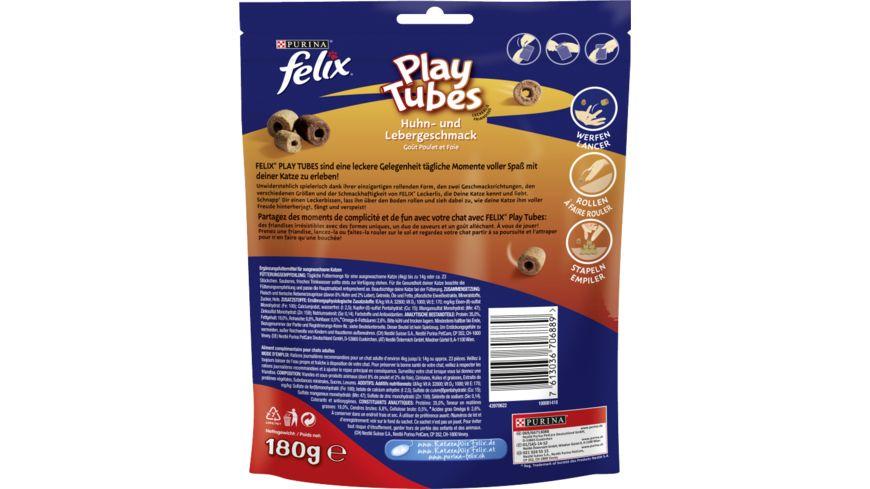 felix Play Tubes Huhn Leber Katzensnacks