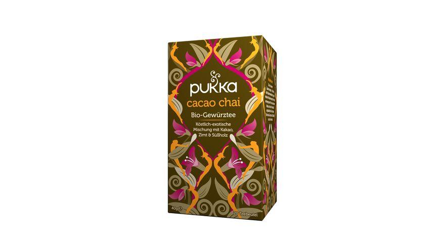 pukka Bio Gewuerztee Cacao Chai