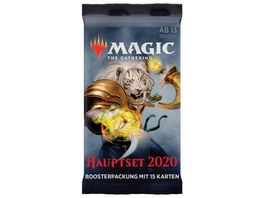 Magic the Gathering Hauptset 2020 Boosterpackung deutsch