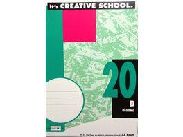 PAPERZONE Heft A4 Lineatur 20 32 Blatt