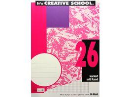 PAPERZONE Heft A4 Lineatur 26 16 Blatt