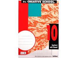 PAPERZONE Heft A5 Lineatur 10 16 Blatt