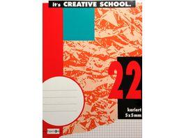 PAPERZONE Heft A4 Lineatur 22 16 Blatt