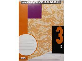PAPERZONE Heft A4 Lineatur 3 32 Blatt