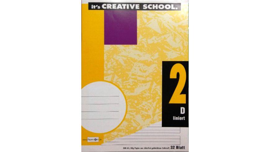 PAPERZONE Heft A5 Lineatur 2 32 Blatt