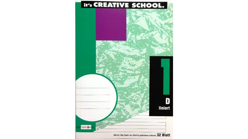 PAPERZONE Heft A5 Lineatur 1 32 Blatt