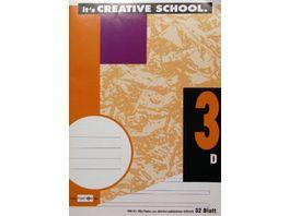 PAPERZONE Heft A5 Lineatur 3 32 Blatt