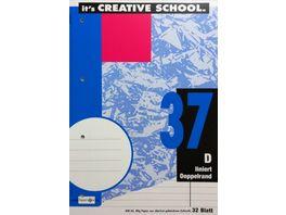PAPERZONE Heft A4 Lineatur 37 32 Blatt