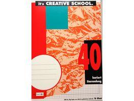 PAPERZONE Heft A4 Lineatur 40 42 16 Blatt