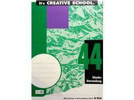 PAPERZONE Heft A4 Lineatur 44 16 Blatt