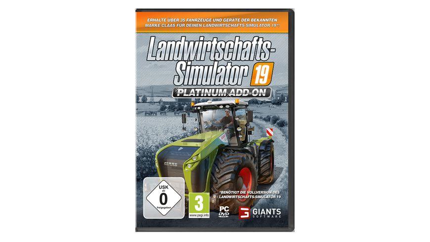 Landwirtschafts Simulator 19 Platinium Add On