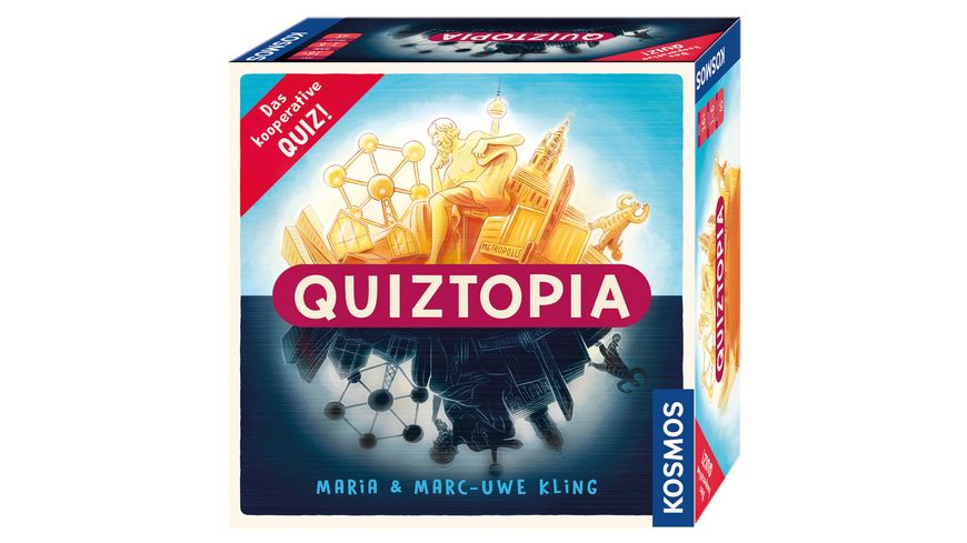 KOSMOS Quiztopia Gemeinsam gegen das Spiel das kooperative Quiz