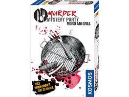 KOSMOS Murder Mystery Party Mord am Grill Das Krimi Dinner fuer zu Hause