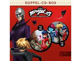 Miraculous Hoerspiel Doppel Box Folgen 13 14