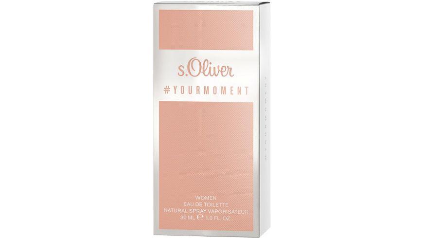 s Oliver YOURMOMENT Women Eau de Toilette