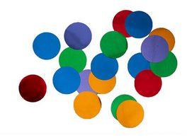 Amscan Deko Konfetti Bright Rainbow 15g
