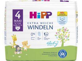 HiPP Babysanft Windeln Maxi 4 10 14 kg Groesse 74 92 32 St