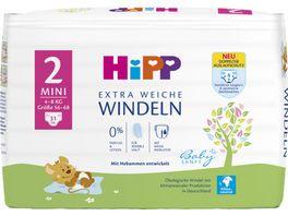 HiPP Babysanft Windeln Mini 2 4 8 kg Groesse 56 68 31 St